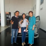 Foto Penyeahan Unit 1 Sales Mobil Dealer Toyota Tanjung Pinang Jessie