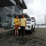 Foto Penyeahan Unit 2 Sales Mobil Dealer Toyota Tanjung Pinang Jessie