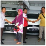 Foto Penyerahan Unit 2 Sales Marketing Mobil Dealer Toyota Tasikmalaya Nono