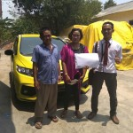 Foto Penyerahan Unit 3 Sales Marketing Mobil Dealer Honda Andri