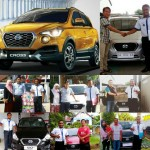 Foto Penyerahan Unit 6 Sales Marketing Mobil Dealer Datsun Farid
