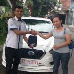 Foto Penyerahan Unit 6 Sales Marketing Mobil Dealer Datsun Solo Sukses Cahyo