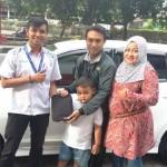 Foto Penyerahan Unit 7 Sales Marketing Mobil Dealer Datsun Solo Sukses Cahyo