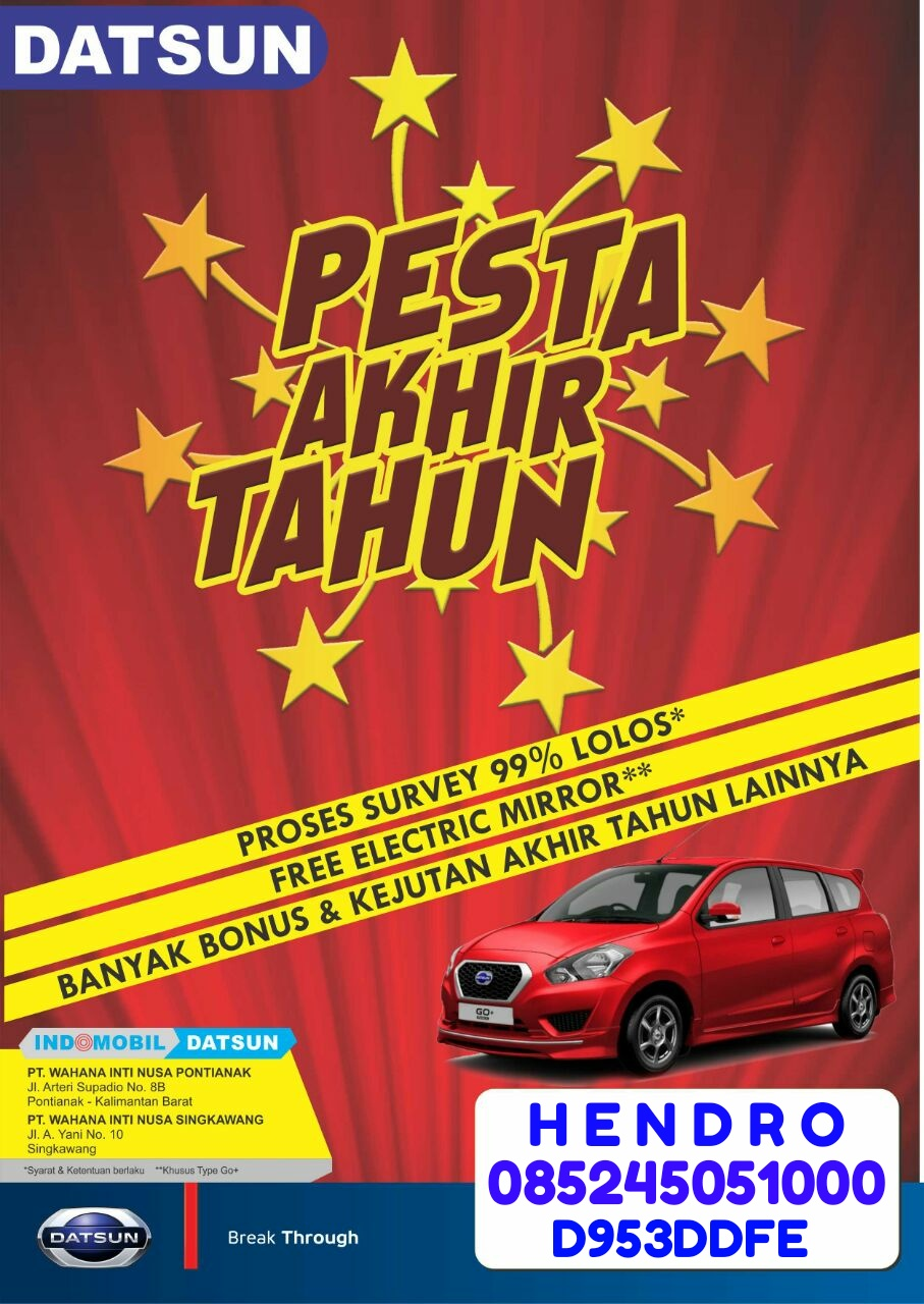 Promo Mobil Datsun By Hendro