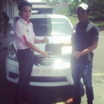 Foto Penyerahan Unit 1 Sales Marketing Mobil Datsun Situbondo Johar