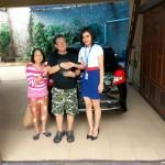 Foto Penyerahan Unit 1 Sales Marketing Mobil Dealer Datsun Jakarta Barat Rika