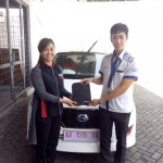 Foto Penyerahan Unit 1 Sales Marketing Mobil Dealer Datsun Magelang Bagus