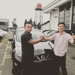 Foto Penyerahan Unit 14 Sales Marketing Mobil Dealer Datsun Agi