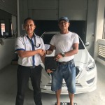 Foto Penyerahan Unit 17 Sales Marketing Mobil Dealer Datsun Purwakarta Yosi