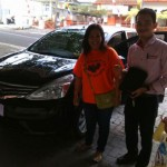 Foto Penyerahan Unit 2 Sales Marketing Mobil Dealer Datsun Bantul Andres