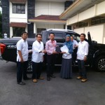 Foto Penyerahan Unit 3 Sales Marketing Mobil Dealer Datsun Bantul Andres