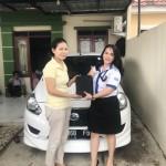 Foto Penyerahan Unit 3 Sales Marketing Mobil Dealer Datsun Idah