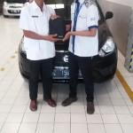 Foto Penyerahan Unit 3 Sales Marketing Mobil Dealer Datsun Tasikmalaya Adytias