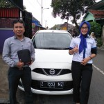 Foto Penyerahan Unit 5 Sales Marketing Mobil Dealer Datsun Tasikmalaya Vera