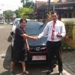 Foto Penyerahan Unit 5 Sales Marketing Mobil Dealer Honda Jakarta Utara Adi