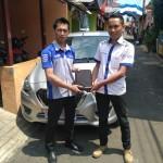 Foto Penyerahan Unit 6 Sales Marketing Mobil Dealer Datsun Budi