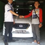 Foto Penyerahan Unit 6 Sales Marketing Mobil Dealer Datsun Tasikmalaya Adytias