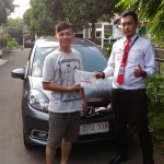 Foto Penyerahan Unit 6 Sales Marketing Mobil Dealer Honda Jakarta Utara Adi