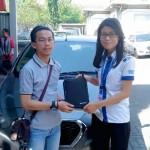 Foto Penyerahan Unit 6 Sales Markting Mobil Dealer Datsun Jakarta Barat Ratna