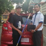 Foto Penyerahan Unit 8 Sales Marketing Mobil Dealer Datsun Tegal Heri