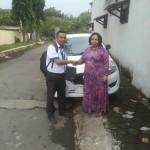 Foto Penyerahan Unit 9 Sales Marketing Mobil Dealer Datsun Probolinggo Novan