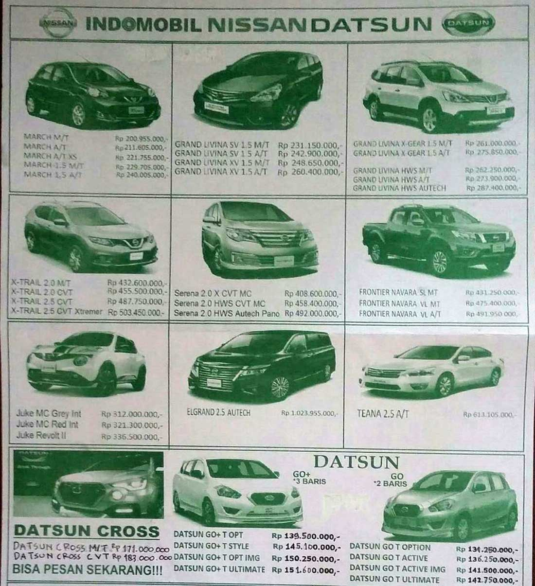 Harga Mobil Datsun By Adriano