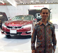 Sales Marketing Mobil Dealer Mobil Honda Sukabumi Decky