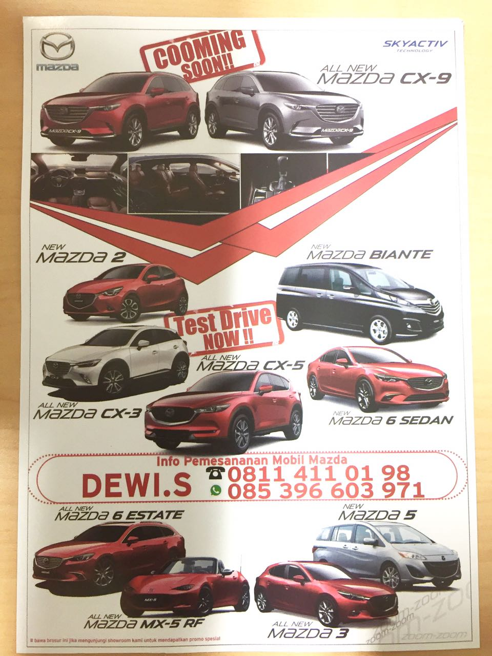 Promo Mazda Makassar 1 By Dewi
