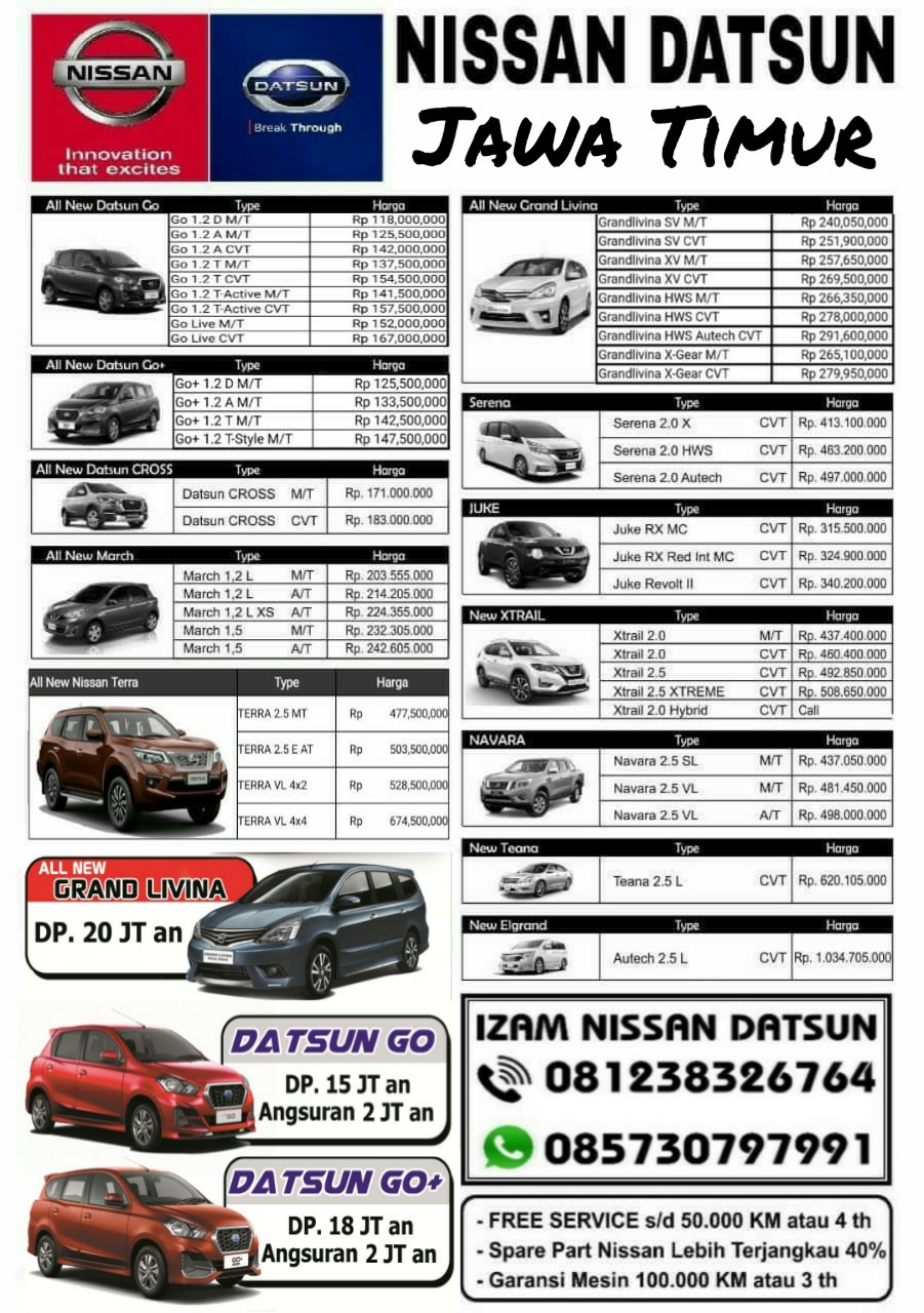 Harga Mobil Nissan By Izam