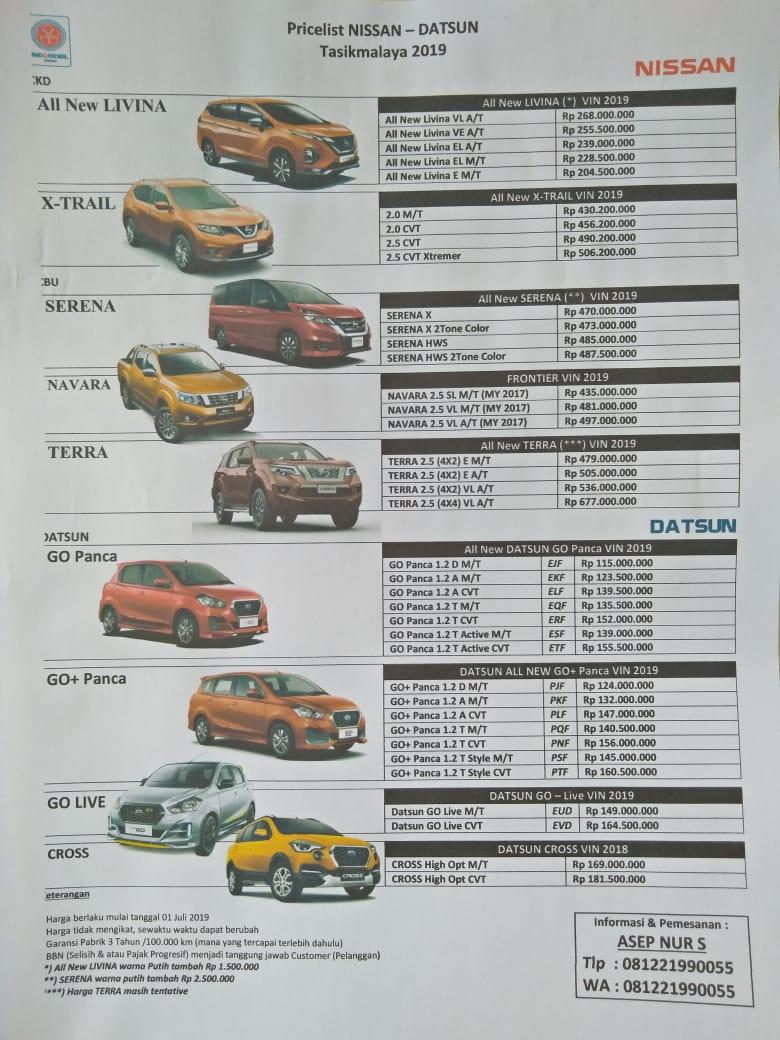 Harga Nissan By Asep