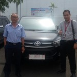 Foto Penyerahan Unit 12 Sales Marketing Mobil Dealer Toyota Indramayu Ryan