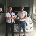Foto Penyerahan Unit 17 Sales Marketing Mobil Dealer Datsun Purwakarta Yosi