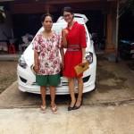 Foto Penyerahan Unit 2 Sales Marketing Mobil Dealer Nissan Datsun Yohana