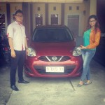 Foto Penyerahan Unit 4 Sales Marketing Nissan Datsun Probolinggo Tomy