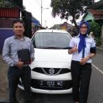 Foto Penyerahan Unit 5 Sales Marketing Mobil Dealer Datsun Tasikmalaya Vera