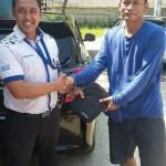 Foto Penyerahan Unit 9 Sales Marketing Mobil Dealer Datsun Purwakarta Yosi