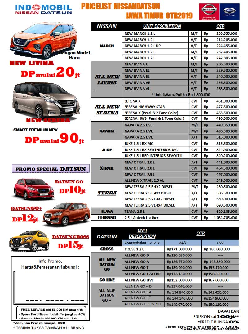 Harga Mobil Datsun By Lucky