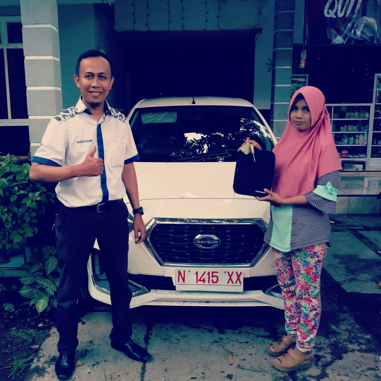 Sales Marketing Mobil Dealer Datsun Andra